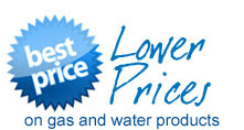 Lower prices on Gas and Water products