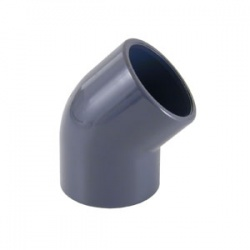 ½'' Solvent Joint x ½'' Female BSP 45º Elbow - PVCu Pressure Pipe
