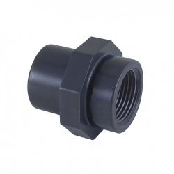 2'' Female BSP x 50mm Socket and/or 63mm Spigot - PVCu Pressure Pipe