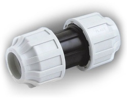 110mm MDPE Slip/Repair Coupling