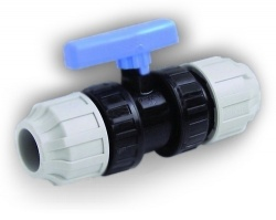 32mm MDPE Stop Valve
