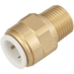 15mm Speedfit x ½'' Male BSP (Brass)