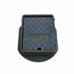 Gas Surface Box - Cast Iron - 150mm x 150mm x 76mm deep