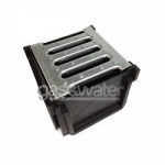 4 Way Junction Box Galvanised Grate