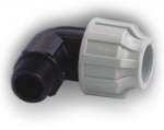 "20mm MDPE Elbow x ½"" Male BSP"