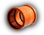 160mm Double Socket Coupling