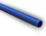 150mm Blue Twinwall Duct x 6m S/S