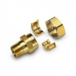 "Gastite DN25 x 1"" Male BSP Fitting Brass"