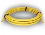 90mm SDR17.6 Yellow Gas Pipe x 50m coil